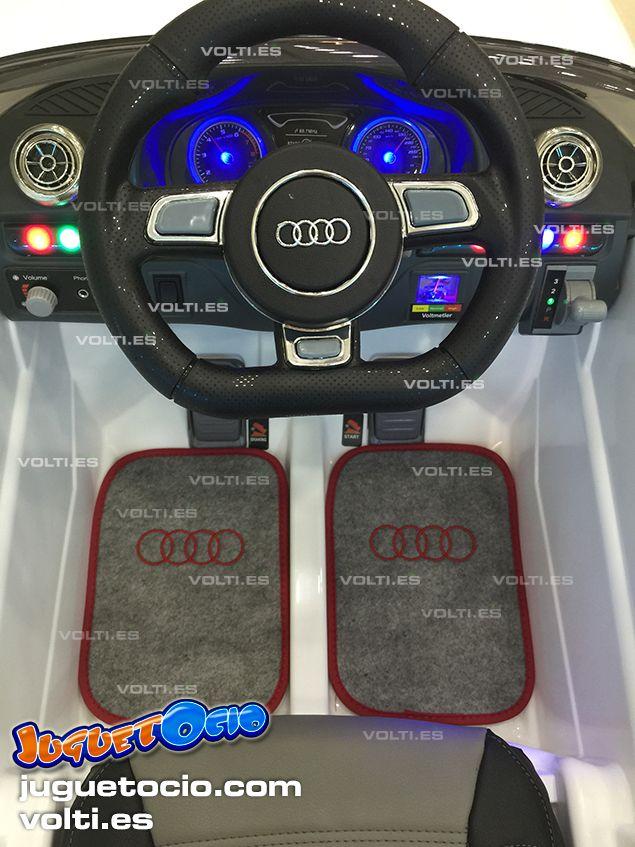 7acf311ff Coches eléctricos infantiles - Coche eléctrico infantil Audi A3 con mando  radiocontrol