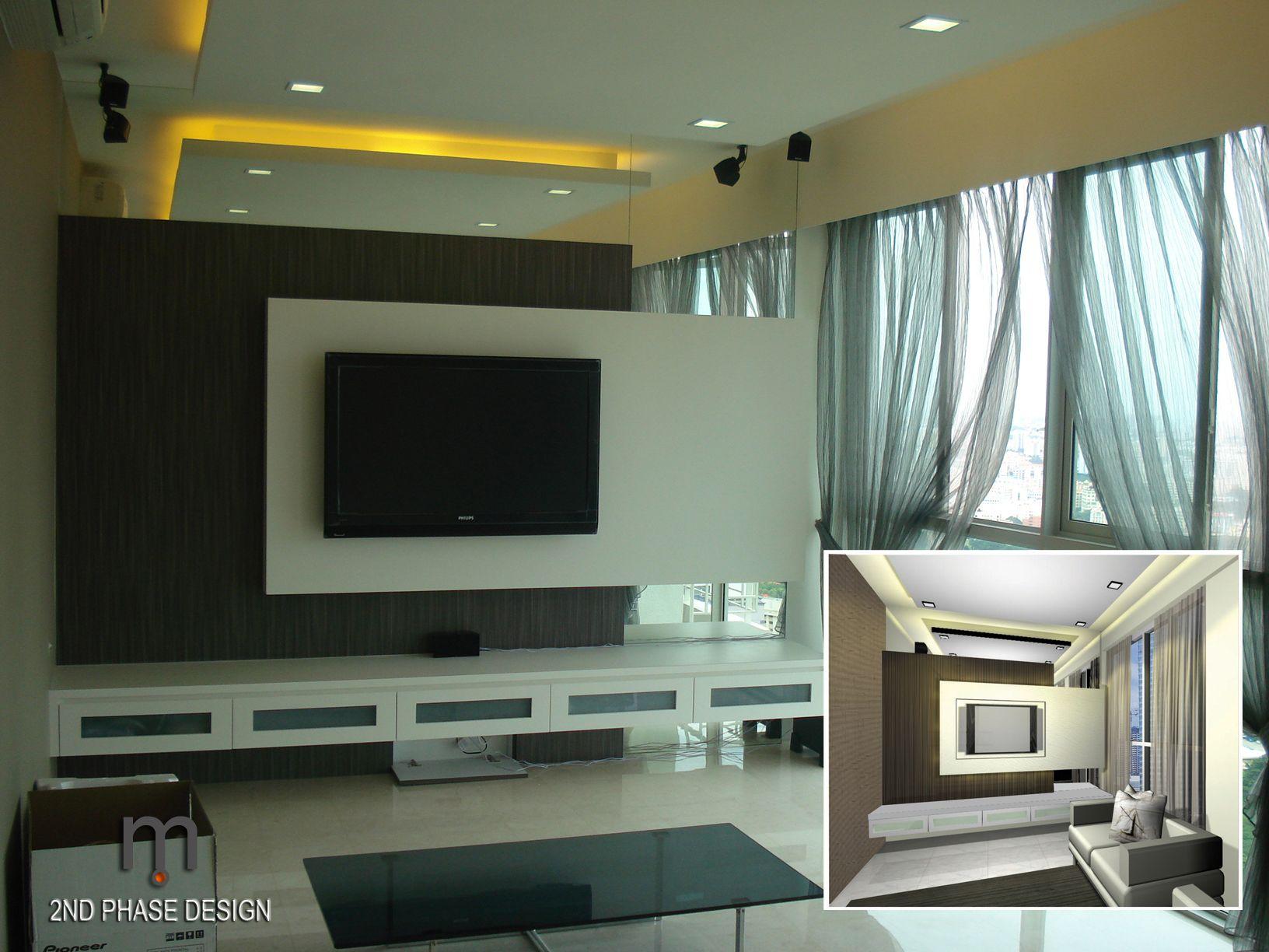Sleek & simple  Feature Walls