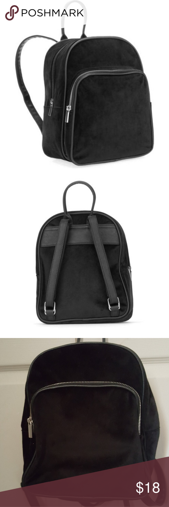 645ab8abd2a5 No Boundaries Velvet Suede Mini Backpack   Gently used and in good  condition. No tears