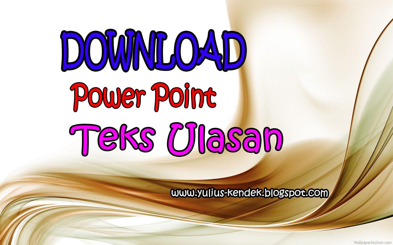 Download Power Point Materi Pengertian Struktur Dan Ciri