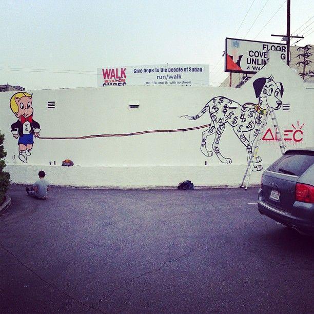 Alec Monopoly - Street Artist