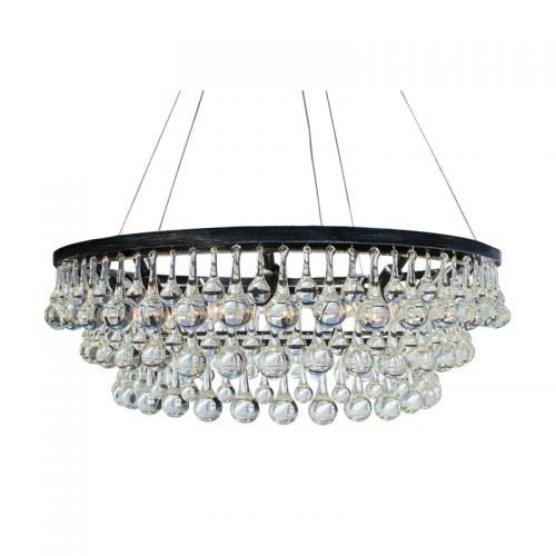 Celeste glass drop crystal chandelier antique silver light up my home lightupmyhome