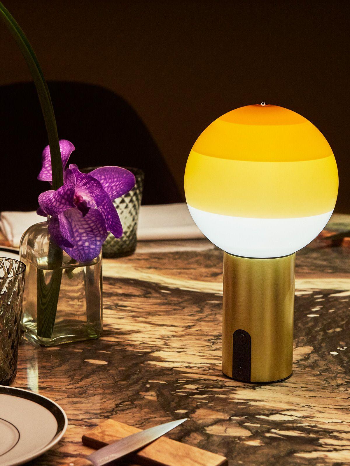 Tragbare Lampen Mit Akku Designort Com Lampen Lampe Glasleuchten