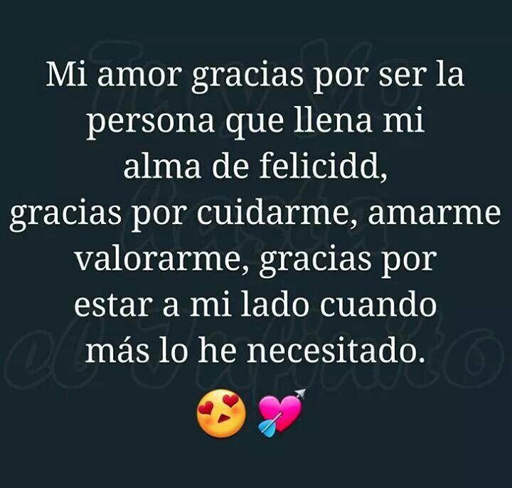 Gracias Mi Amor Stefani Y Martin Pinterest Amor Frases De