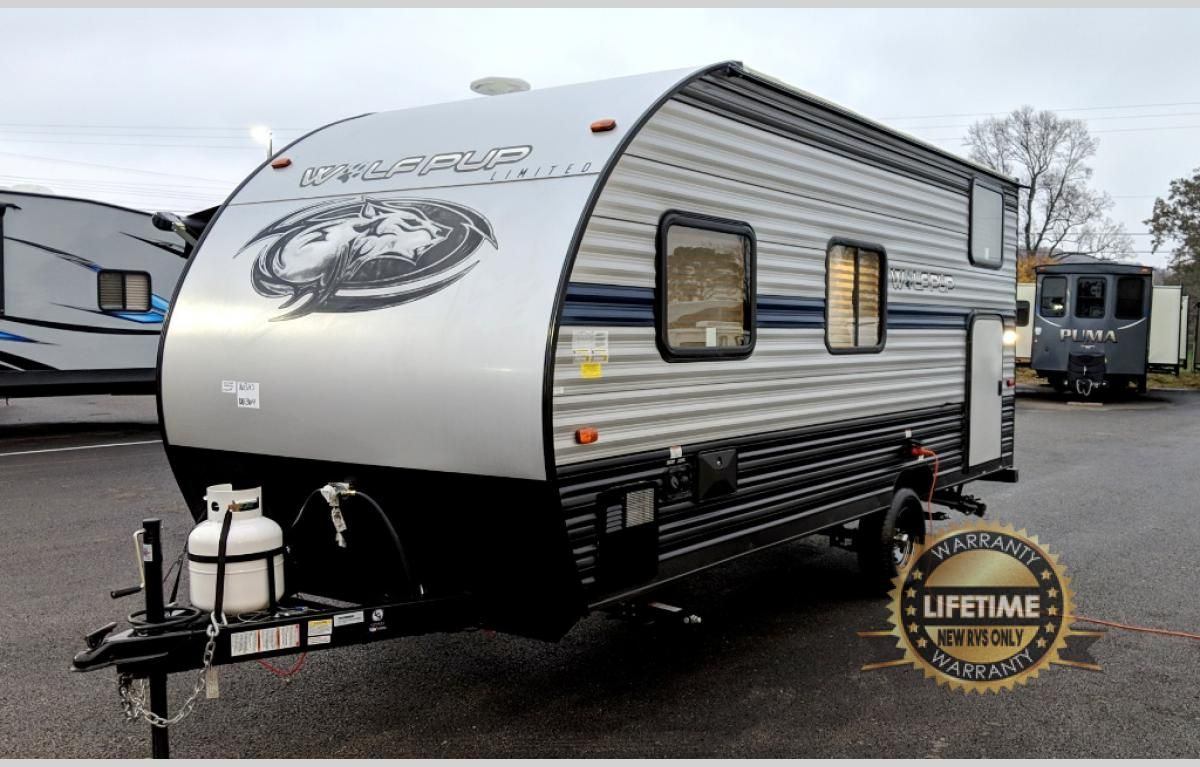 New 2019 Forest River Rv Cherokee Wolf Pup 16bhs Travel Trailer At