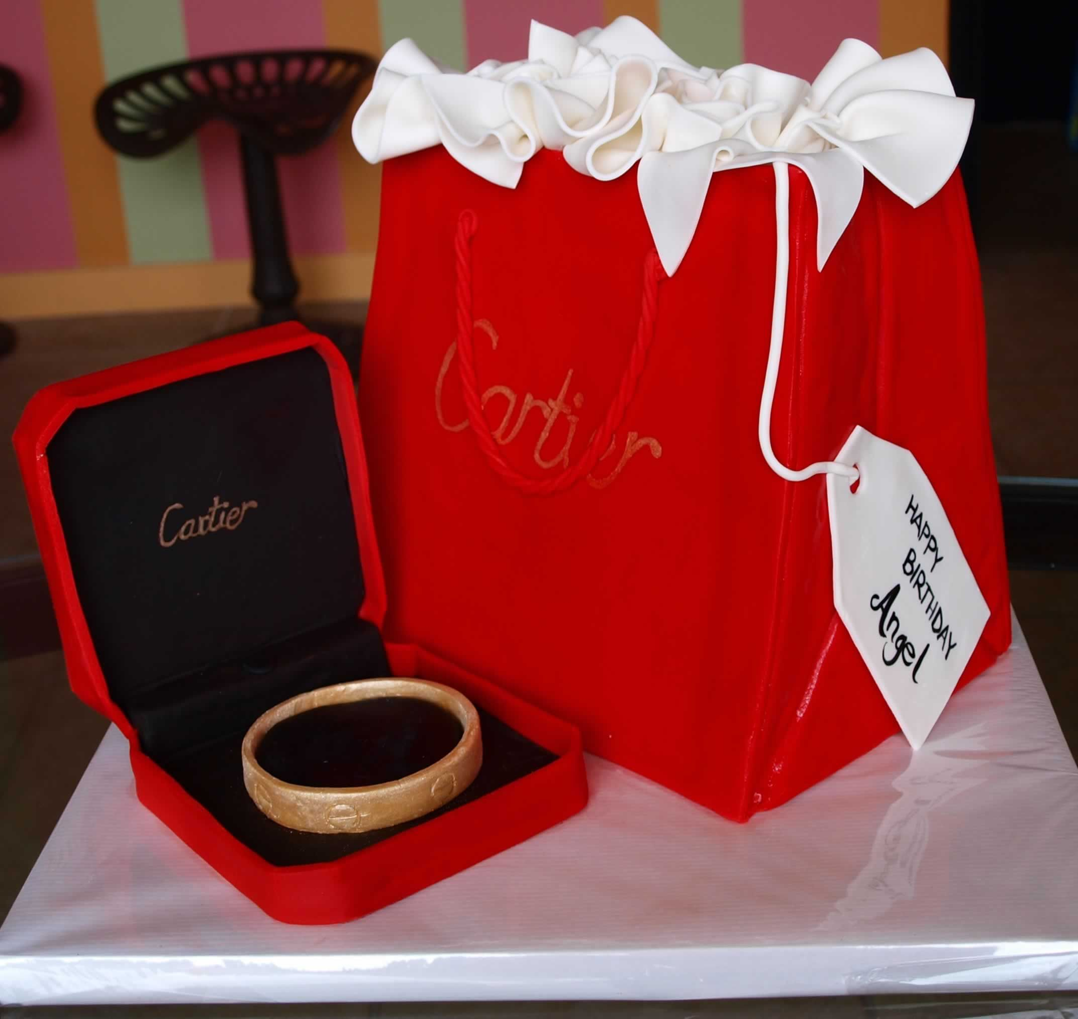 Cartier 3d Birthday Cake See More Instagram