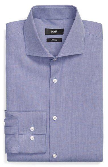 a283baa4 BOSS 'Jason' Slim Fit Easy Iron Solid Dress Shirt | My Fashion - My ...