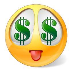 Easy Money Smiley   Money emoji, Smiley, Funny emoticons
