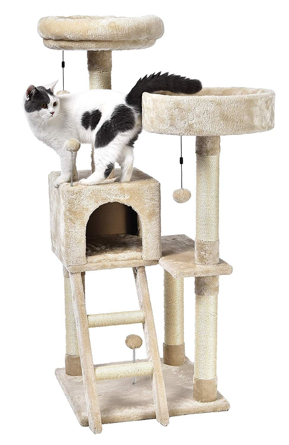 Creative cat tree plans let you ruin your felines rotten