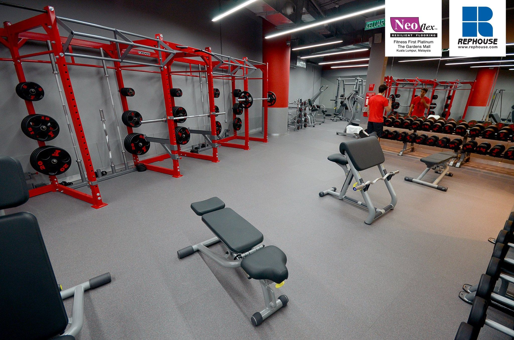 Neoflex 600 Series Reptiles Fitness First The Gardens Mall Malaysia Gym Flooring Rubber Gym Flooring Rubber Flooring