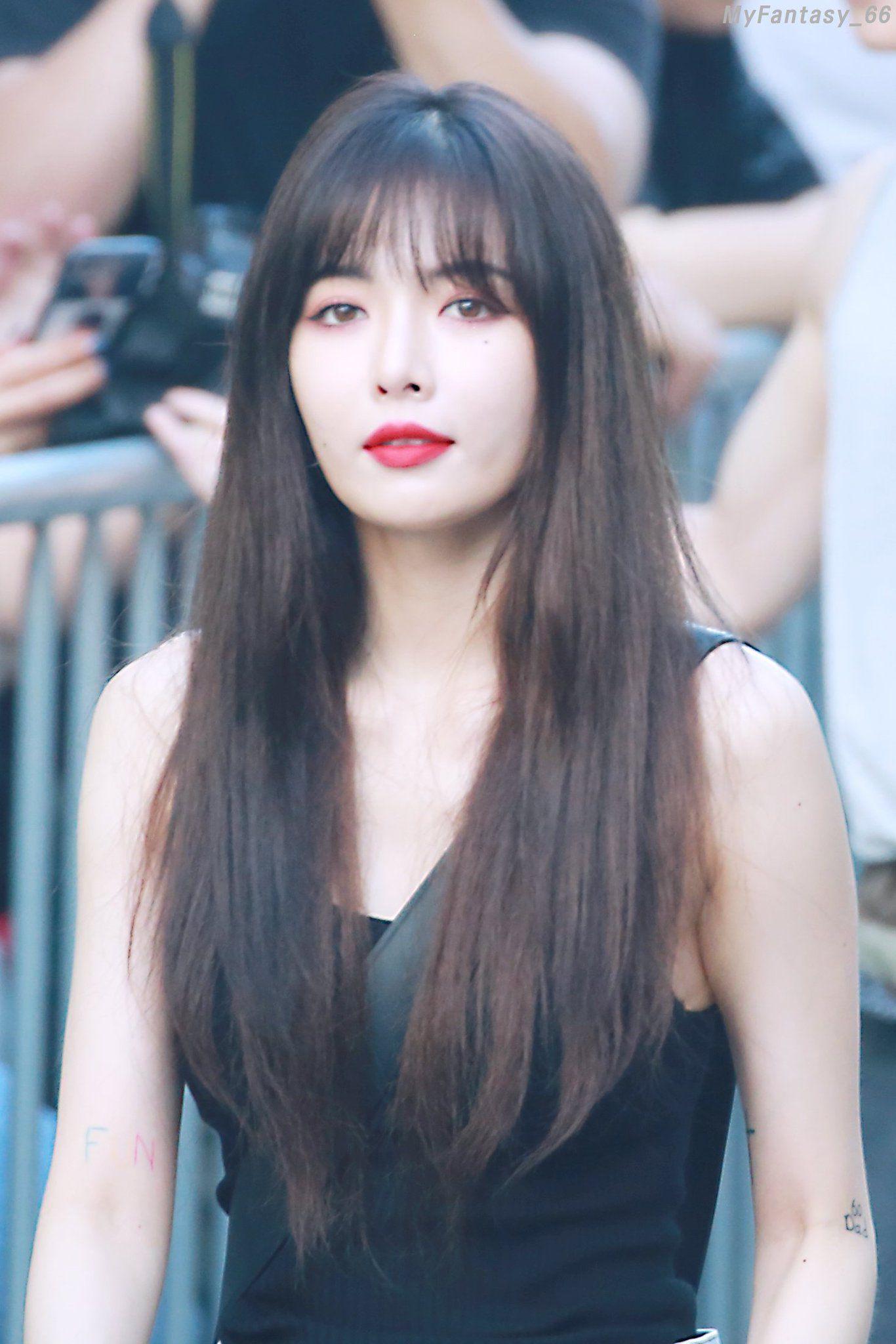 Pin em K-pop Hyuna 2019