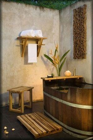 Bath Spa Shower Indoor Outdoor Accessories Teak Wood Shelf Stool