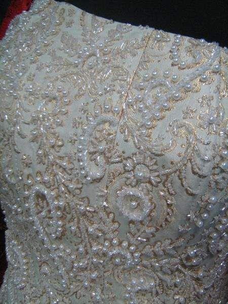 Вышивка горловины платья схемы