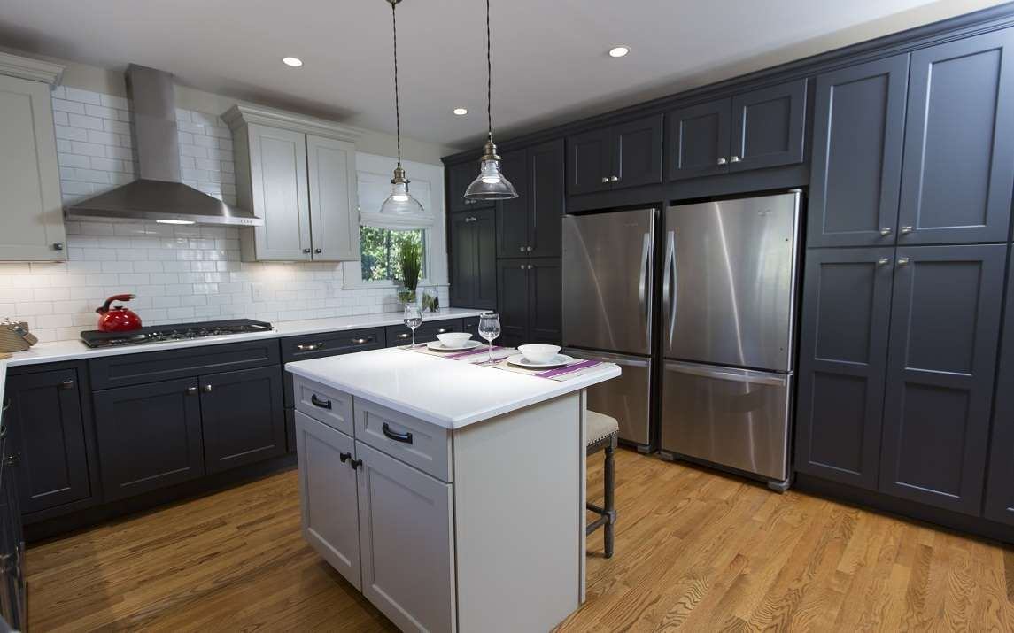 After: Kitchen - Provided by W Network