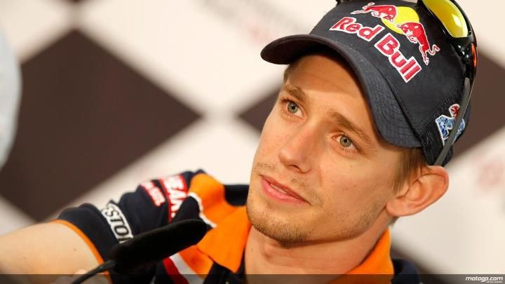 Casey Stoner announces his retirement at the end of the 2012 MotoGP season at Le Mans