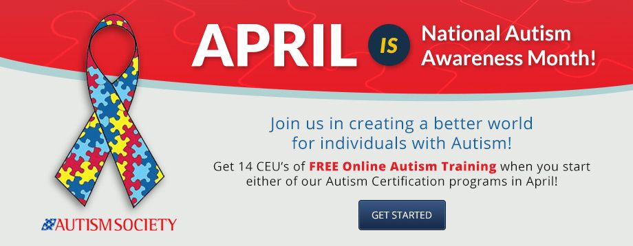 Show your commitment dedication to autism by getting