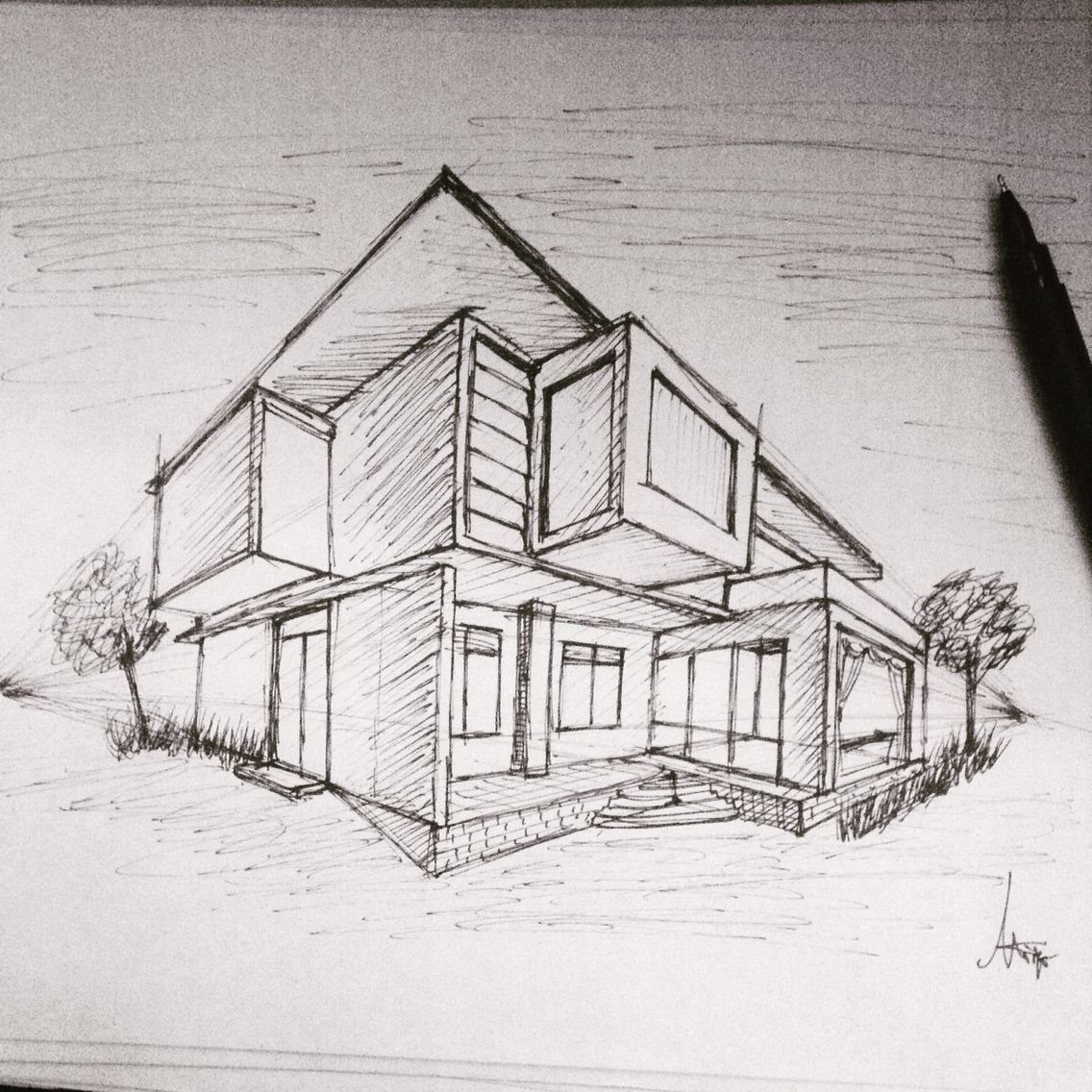 Try My Best For Sketching In
