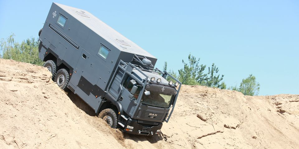 Man 6x6 Camper Armadillo Specialty Vehicles Ltd Overland Truck