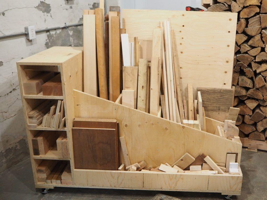 Ultimate Lumber Storage Cart Lumber Storage Lumber