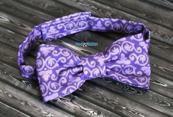 Purple Bowtie...Cake Smash...1st by LilStudMuffins on Etsy, $11.99