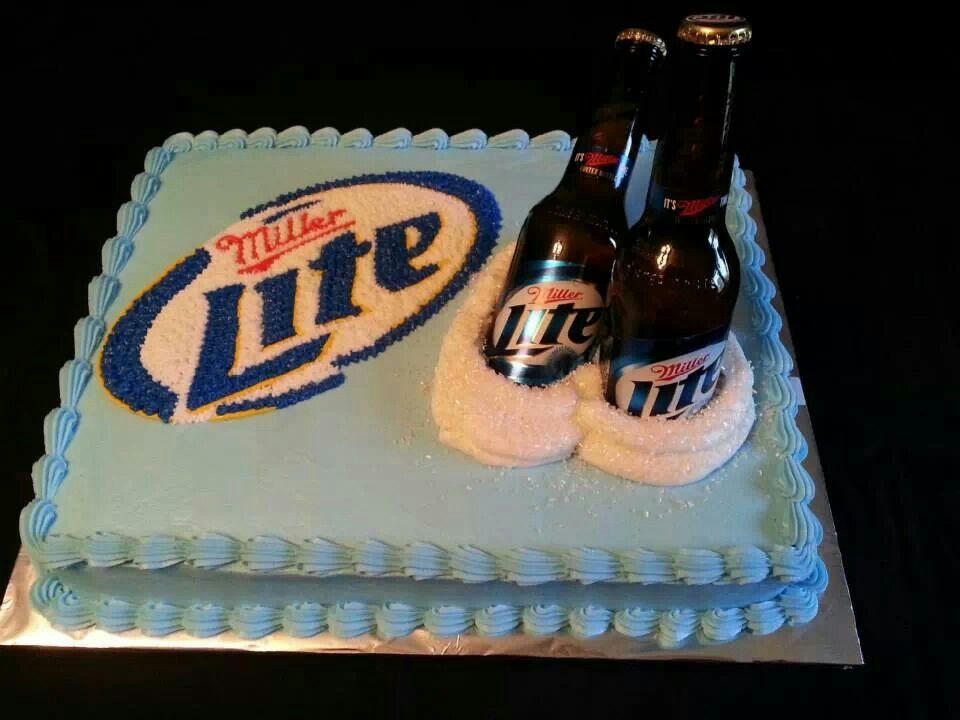 Miller Lite Cake Wicked Awesome Miller Lite Cake
