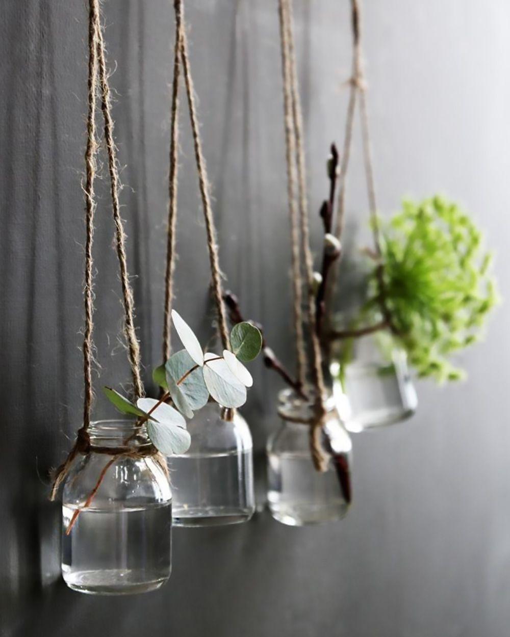 Photo of DIY hängende Flaschen für Ihre Blumen | Schüttle meinen Blog
