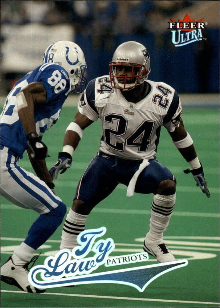 new arrivals bd224 2e472 Details about NEW ENGLAND PATRIOTS MICHIGAN TY LAW 2004 ...