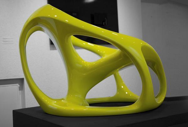 Bionic, a conceptual organic shape armchair by Igor Solovyov