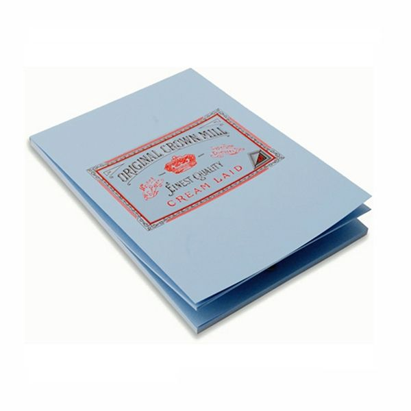 Crown Mill Luxury Letter Writing Paper Stationery Set A5 Sheets//Envelopes Blue