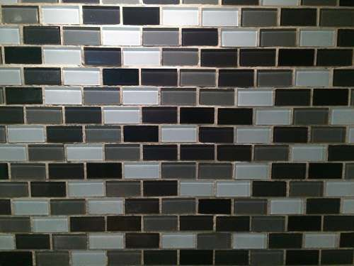 Malla mosaico para cocina ba o color blanca negra y gris - Mosaicos para banos ...
