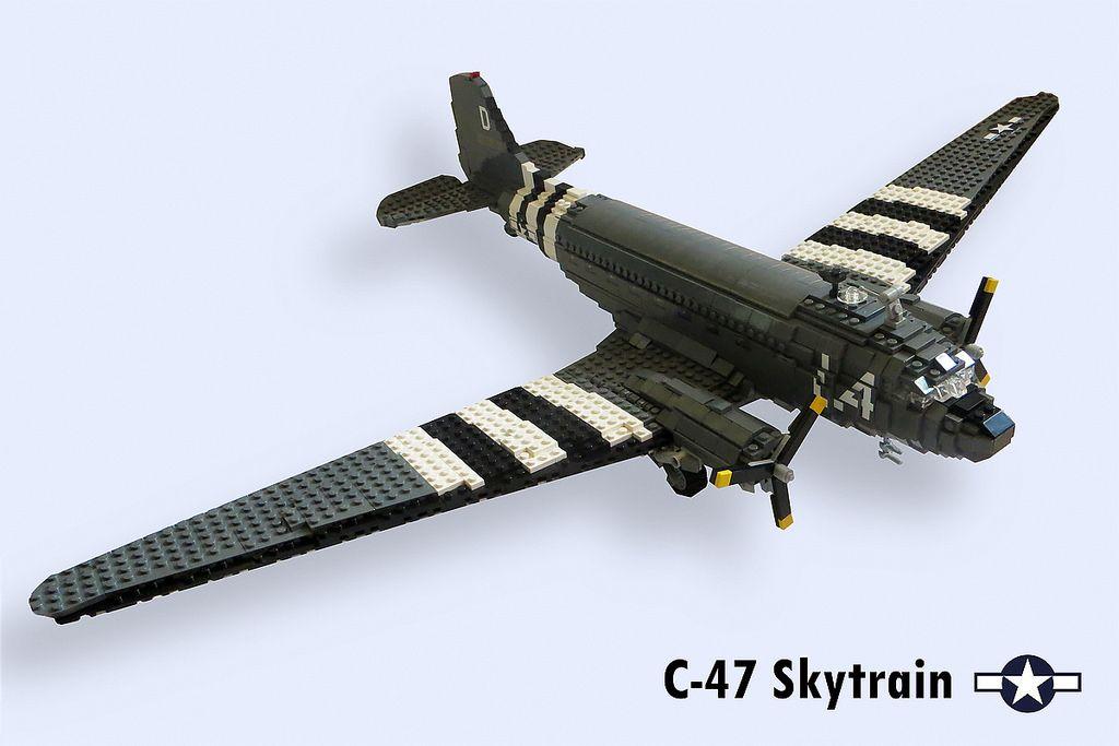 Douglas C Aviation 3Lego 47 Skytraindc EH29DI