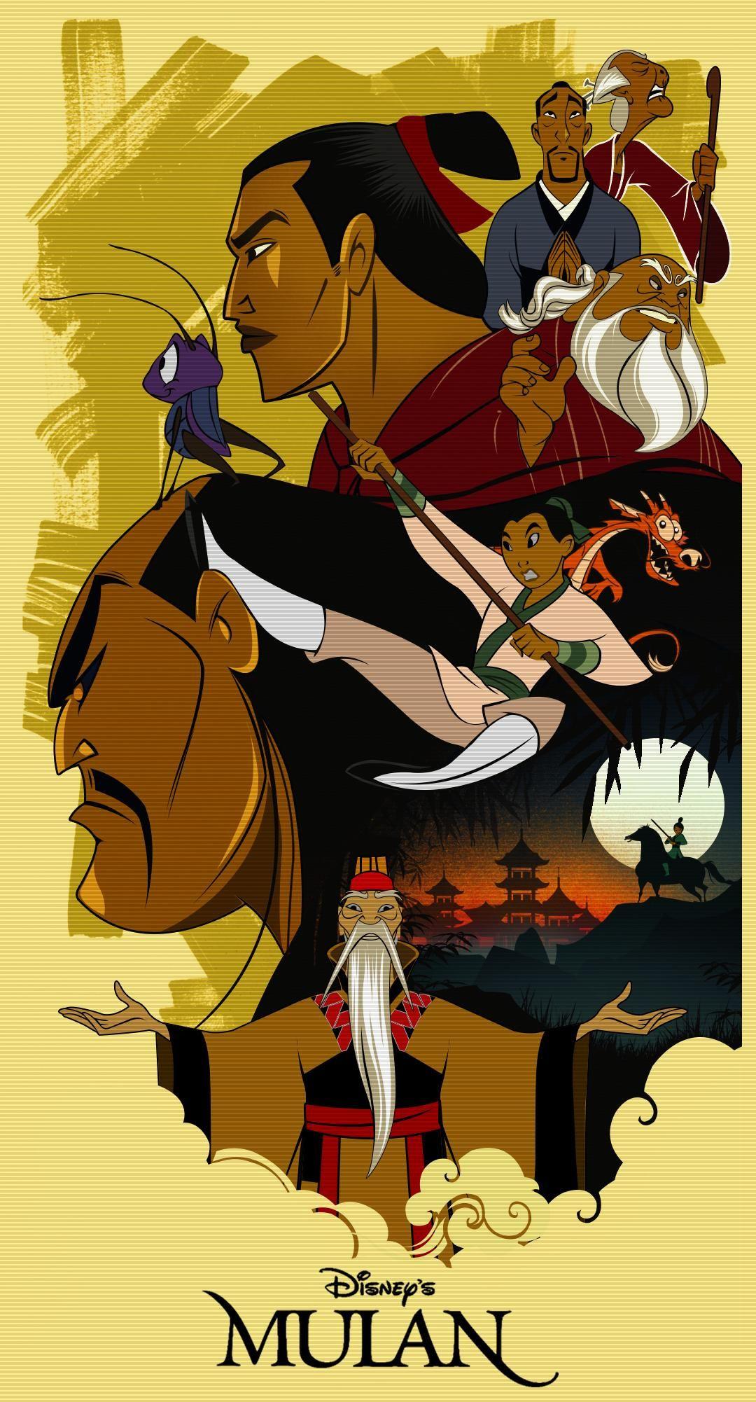 Mulan (1998) [1080 x 2002] | Disney movie posters, Mulan disney ...