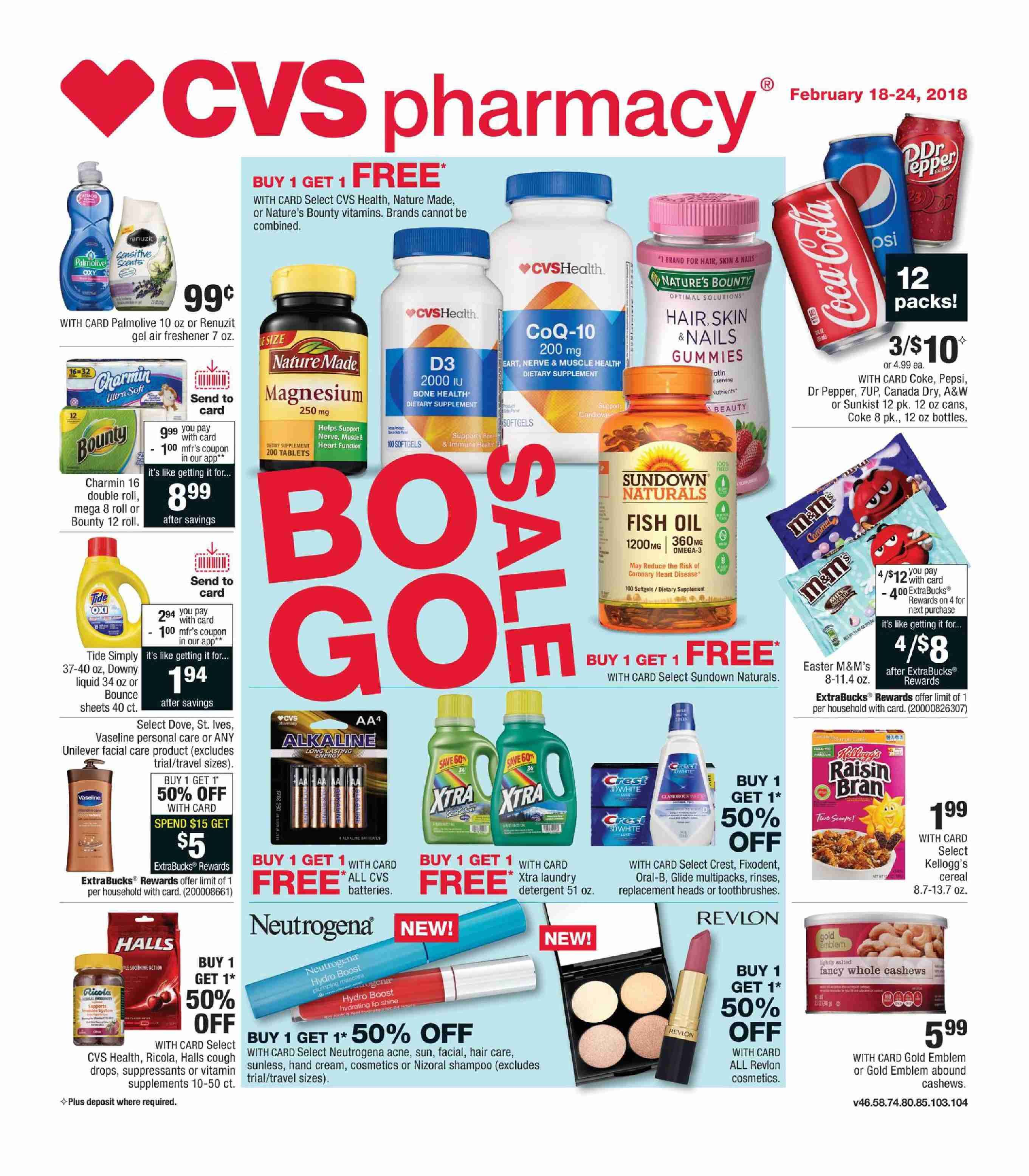 CVS Weekly ad Flyer January 20 26, 2019 Ads, Weekly