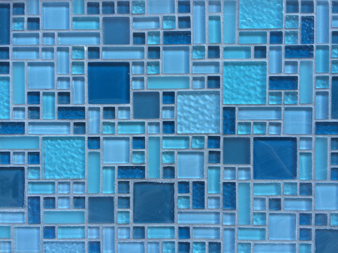 Npt Fusion Imperial Mosaic Glass Tile Spa Pool Tile Light