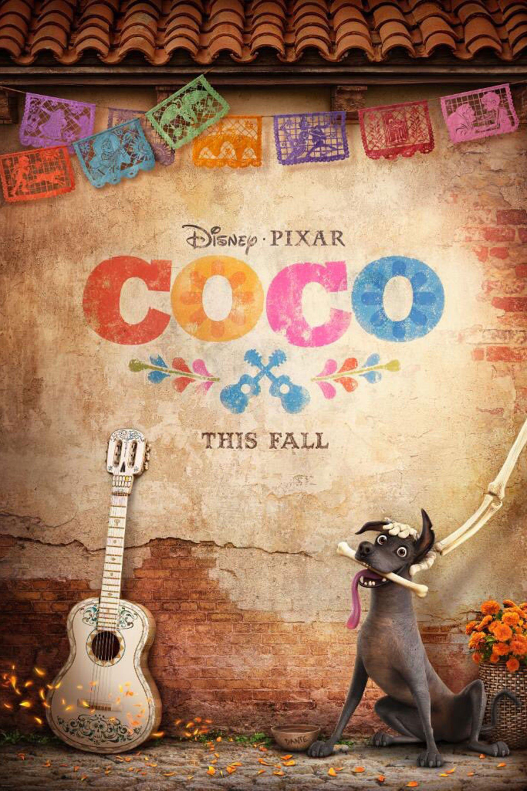 pixar s coco gets a colorful new poster movies and music