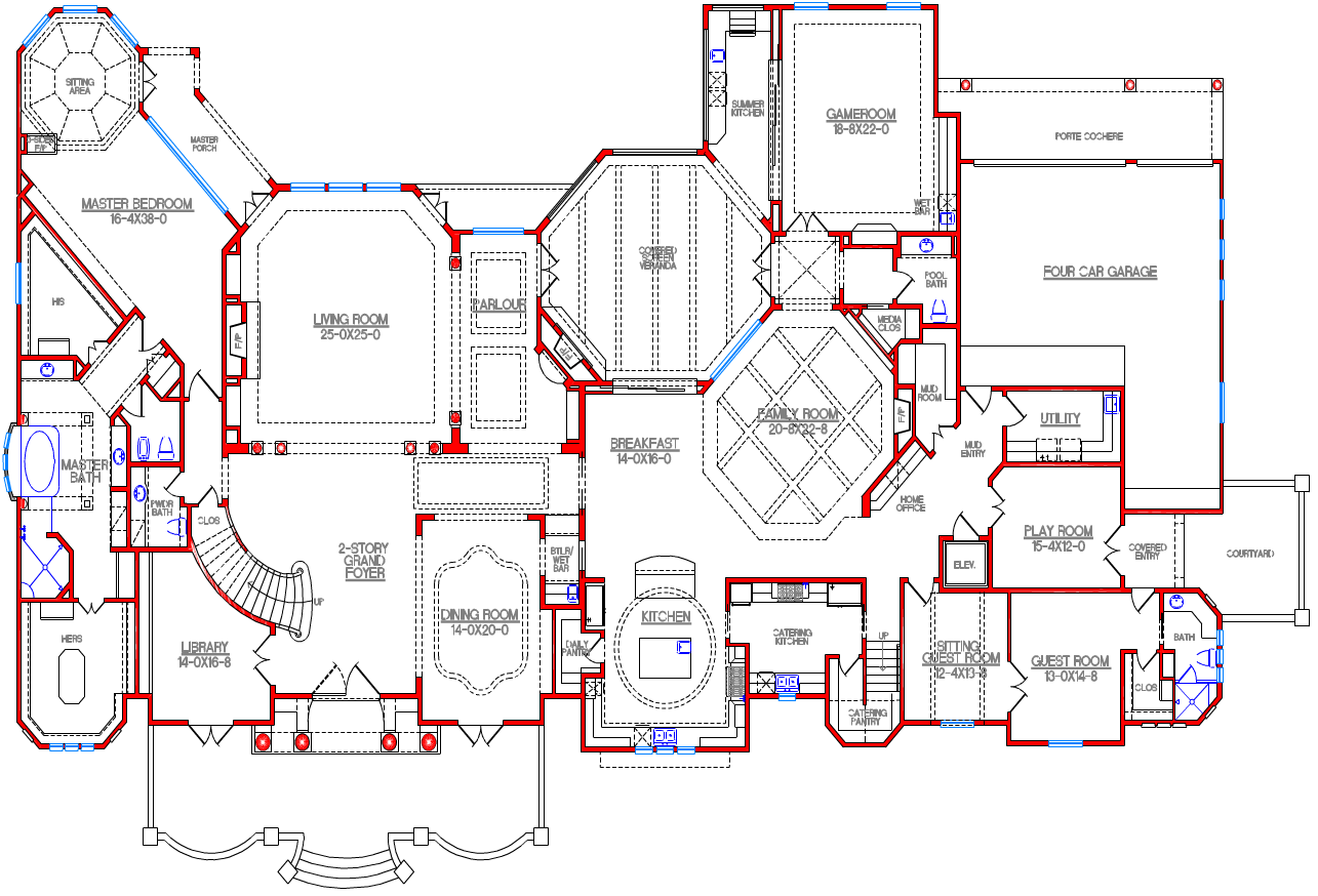 biggest mansion floor plans mansions cool architecture