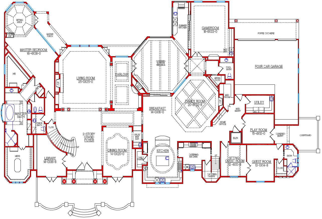 A V D Mansions A Look At Mansion Floor Plans Mansion Floor Plan Floor Plans Architectural House Plans