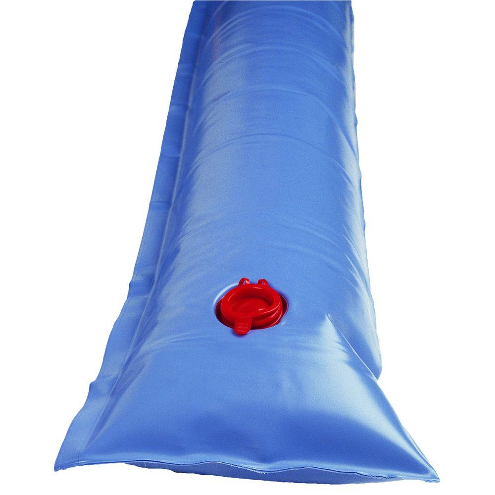 Blue Wave 10 ft  Universal Single Water Tube for Winter Pool Covers, Blues is part of Winter garden Pool - Our rugged heavy duty water tubes will not split like thinner 14 or 16Gauge bags  Up to 33% heavier than other bags  The quality Halkey Roberts noleak valve is easily filled with a garden hose  10 ft  single tube  Color Blues