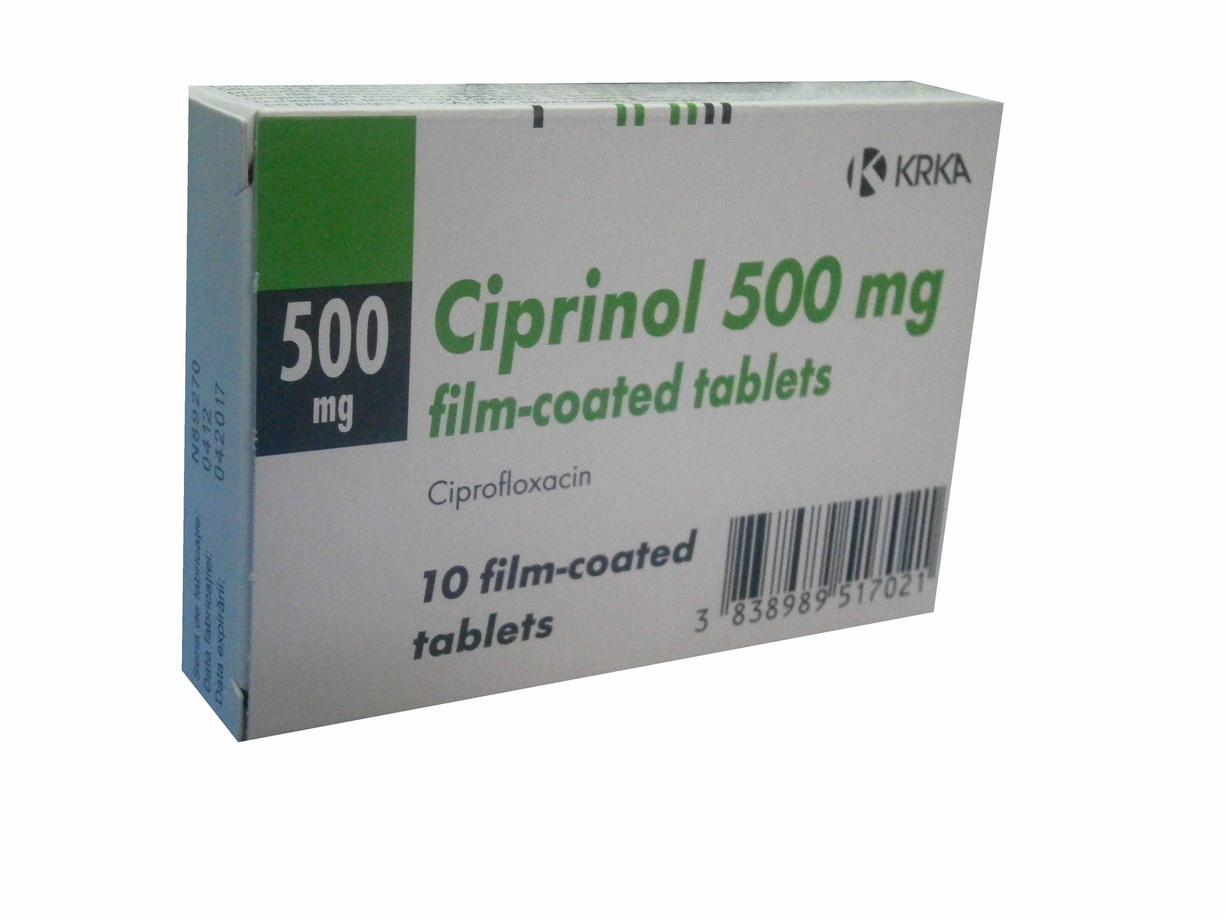 Cipro - FDA prescribing information, side effects and uses