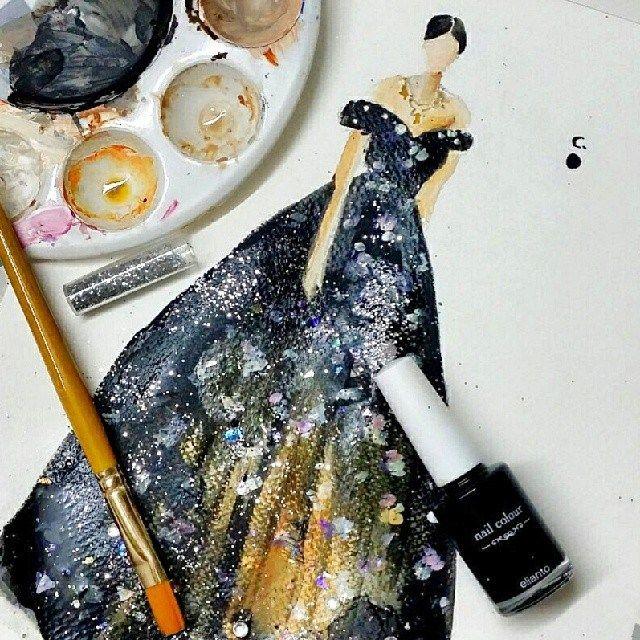 她用指甲油繪畫出少女們的夢想 » ㄇㄞˋ點子靈感創意誌