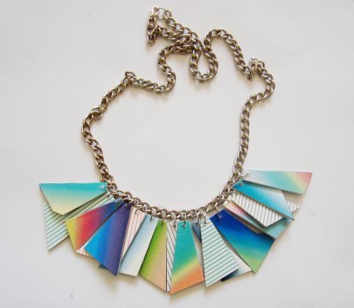 A rainbow around my neck.