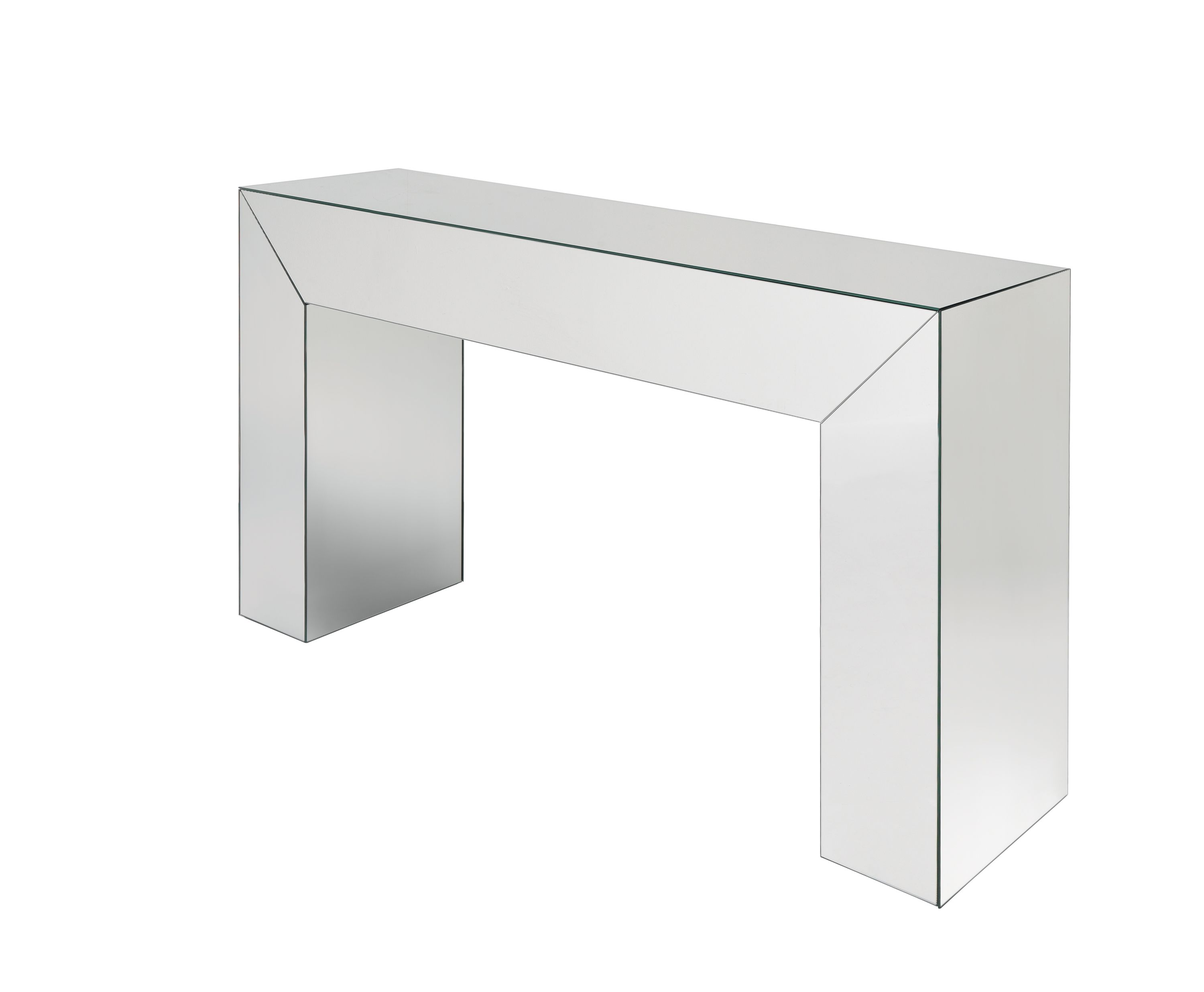Laskasas | Shine Console Table | One Drawer Sophisticated Console Fully  Made In Mirror Finish. Www.laskasas.com