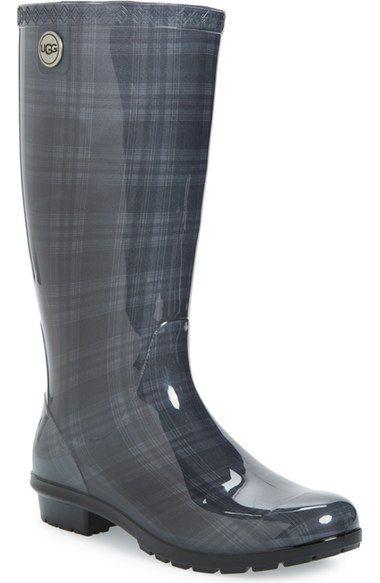 36c60a22ce1 UGG® 'Shaye' Genuine Shearling Lined Waterproof Mid-Calf Rain Boot ...