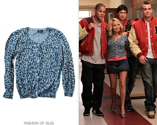 Thanks madibrittana4eva! HM Blue Leopard Print Cardigan - $27.38 ...