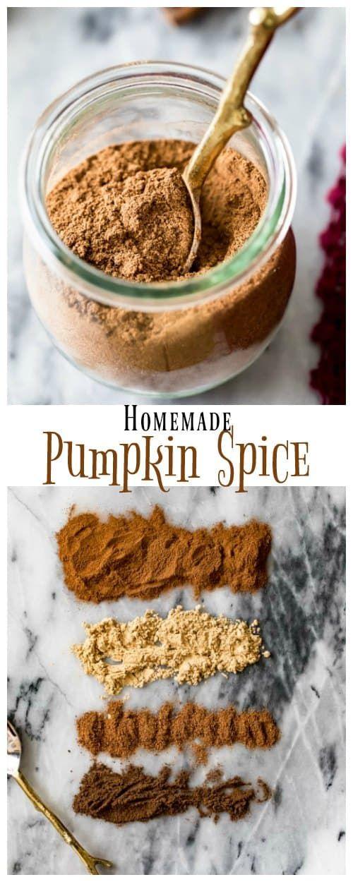 Homemade Pumpkin Spice (Pumpkin Pie Spice)