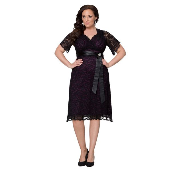 Kiyonna Clothing Women S Plus Size Retro Glam Dress Ping Top Rated