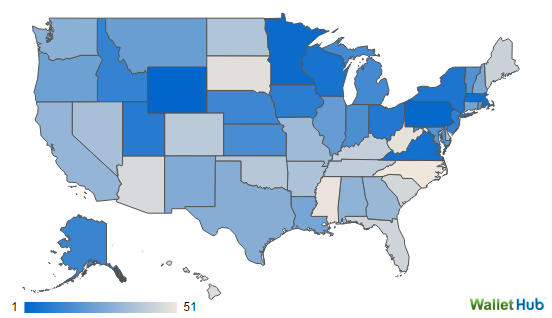 Report Wyoming Best State For Teachers Most States A Mixed Bag