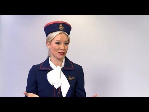 Denise Van Outen helps British Airways celebrate its 40th Anniversary