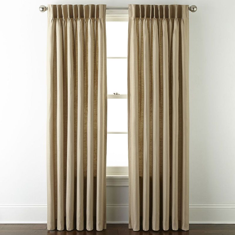 Jcpenney Home Supreme Pinch Pleat Curtain Panel In 2019 Pinch