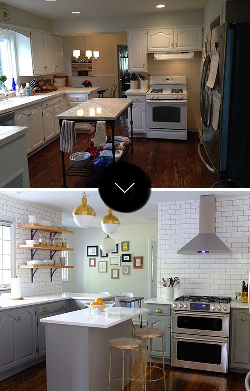 Before & After: A New Jersey Kitchen Gets A Touch Of